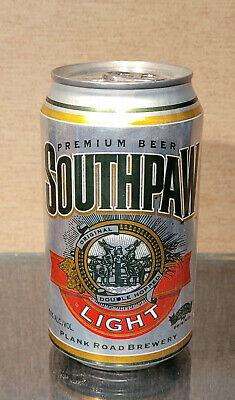 $5 • Buy 1990s BOTTOM OPEN SOUTHPAW LIGHT PLANK ROAD BREWERY MILLER STAY TAB BEER CAN