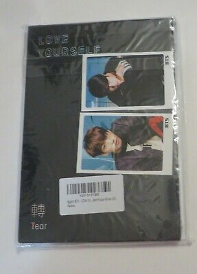 $18.50 • Buy Love Yourself: Tear By BTS With Poster New Sealed See Pictures V4