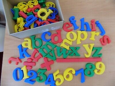 £5 • Buy Box Of Magnetic, Numbers, Signs And Letters