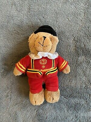 £6.95 • Buy Harrods 7  Red Beefeater Harrods Plush Teddy Bear Soft Toy Collectable