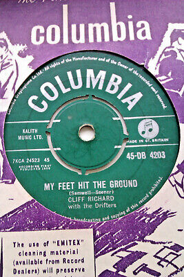 £2.99 • Buy Cliff Richard With The Drifters My Feet Hit The Ground Db.4203 Ex+ Light Warp