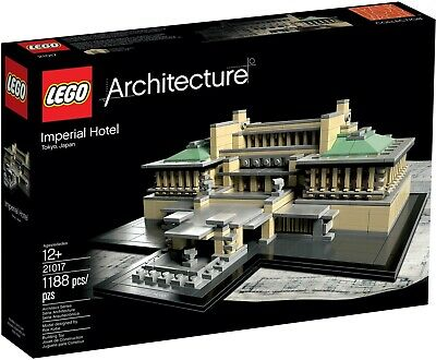 £164.97 • Buy LEGO Architecture - 21017 - Imperial Hotel - *RETIRED* Brand New