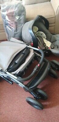 £25 • Buy Graco 3 In 1 Travel System, Car Seat, Stroller And Flat Bed