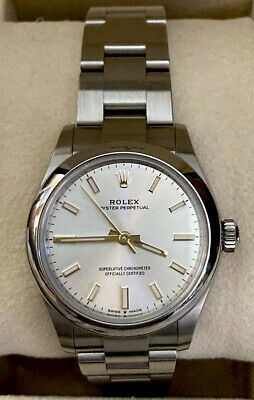$ CDN7427.21 • Buy Rolex New Oyster Perpetual 277200 Silver Index Dial 31MM Box And Papers C. 2021