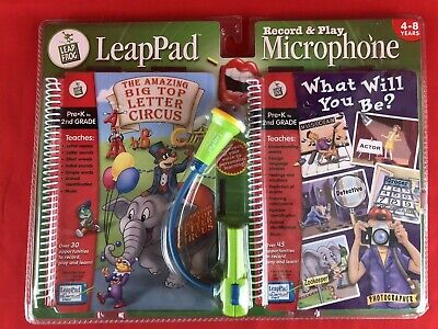£10.78 • Buy LeapPad Leapfrog Educational Toy Record & Play Microphone Pre-K To 2nd Grade