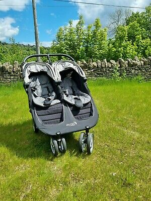 £80 • Buy Baby Jogger City Mini Double Pushchair - Incl BAG And Rain Cover - From STROUD