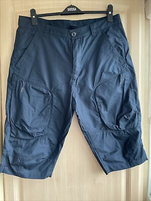 £10.50 • Buy AX Armani Exchange Mens Navy Cargo Combat Trousers Shorts Size 34