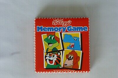 £1.99 • Buy Kellogg's Memory Game 1983 32 Cards Complete Excellent Condition