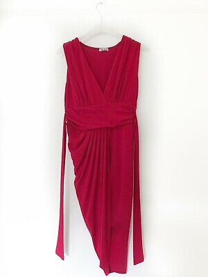 £0.99 • Buy Wal G Bodycon Red Sexy Cocktail Party Dress Size Small 8/10