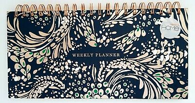 £3.99 • Buy BN Sainsburys Home Boutique Wiro Weekly Desk Planner Paper 80gsm 100 Sheets New