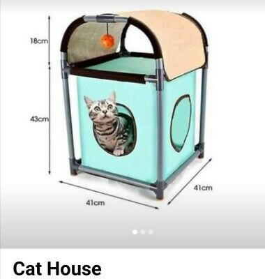 £10 • Buy Cat (or Small Dog) Igloo Cave Bed