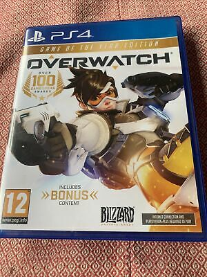 AU28.03 • Buy PS4 Game - Overwatch GOTY - Game Of The Year Edition For Playstation 4