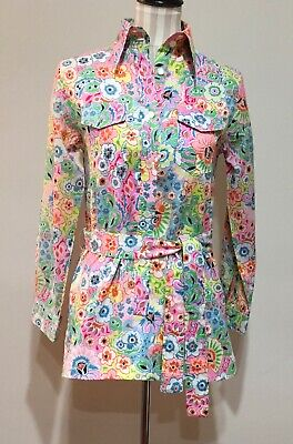 $49.95 • Buy Vintage Lilly Pulitzer Shirt Tunic The Lilly