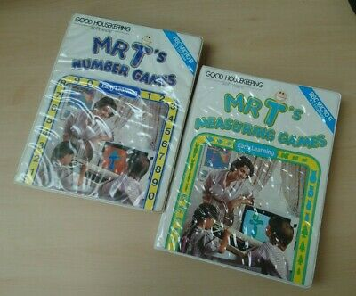 £1.99 • Buy 2 Mr T Games Measuring Number Cassette Early Acorn BBC Micro Good Housekeeping