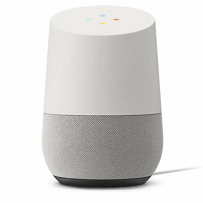 AU54.35 • Buy Google Home Smart Speaker With Google Assistant White Brand New