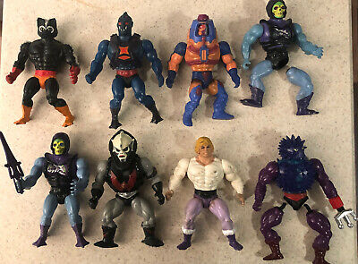 $12.50 • Buy MOTU Masters Of The Universe He Man Classic Vintage Lot Of 8 Parts Figures