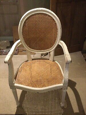 £50 • Buy 2 X French Louis Carver Chairs Basket Weave