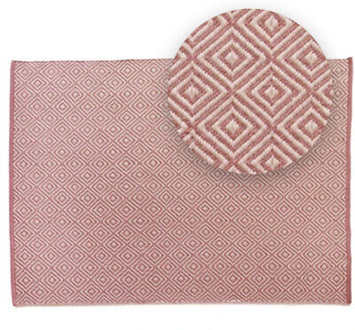 £50 • Buy Hug Rug Diamond Pink Made From 100% Recycled Plastic Bottles Planet Friendly