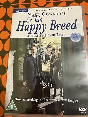 £10 • Buy This Happy Breed (DVD, 2009, 2-Disc Set) Special Edition Comes With Booklet
