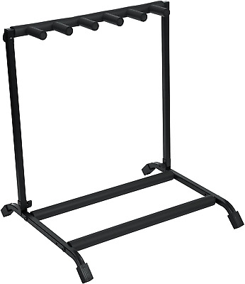$ CDN71.35 • Buy Rok-It Multi Guitar Stand Rack With Folding Design; Holds Up To 5 Electric Or