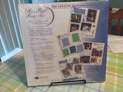 £3.63 • Buy New - Creative Memories 12x12  Its A Boy  Border Pages