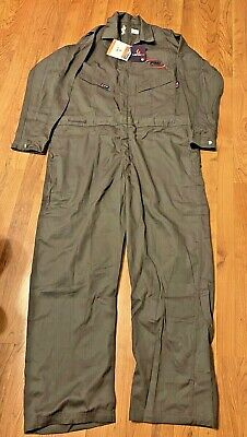 $28 • Buy Mens Coveralls NWT Size 2XLT Zip Front Flame Resitant