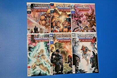 $46 • Buy DC Comics INJUSTICE VS MASTERS OF THE UNIVERSE #1-6 Complete HE-MAN JLA