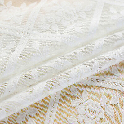 AU5.79 • Buy Table Cover Cloth Lace Non-slip Dining Wedding Banquet Party Tablecloth White
