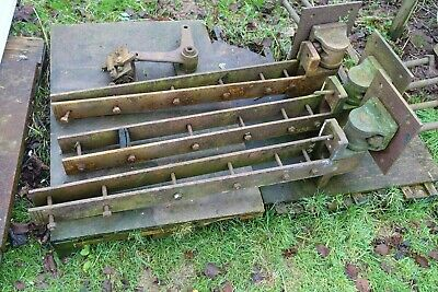 £250 • Buy Genuine Great Western Railway GWR Large Heavy Hinges For Level Crossing Gates
