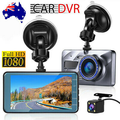 AU56.95 • Buy 1080P Car Dash Camera Video DVR Recorder Front And Rear Night Vision Dual Cam