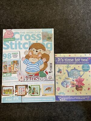 £2 • Buy World Of Cross Stitching Magazine Sept 21 Issue 310 With Gift