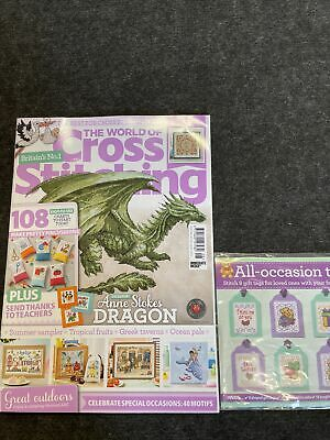 £2 • Buy World Of Cross Stitching Magazine July 21 Issue 308 With Gift