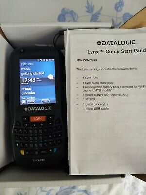 £47 • Buy Datalogic Lynx Hand Held Computer And Barcode Scanner In Great Condition