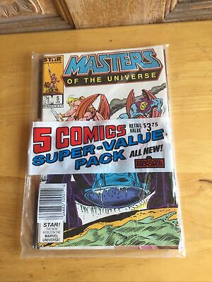 $47.99 • Buy 5 Comic Super Value Pack Marvel Amazing Spiderman 284, Masters Of The Universe 5