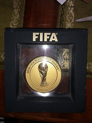 £25 • Buy 2018 Fifa World Cup Russia Preliminary Draw Participant Medal