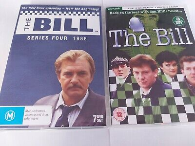 £24.99 • Buy The Bill Complete Series 3 + 4 Dvd Sets ☆☆☆☆☆☆☆☆☆☆☆☆☆☆☆☆☆☆☆☆