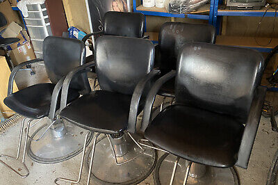 £60 • Buy Hair Salon Gas Lift Pump Action Hairdressing Salon Chairs With Foot Rest