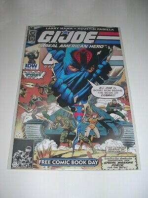 £6.50 • Buy G I Joe EXCELLENT CONDITION BAG & BOARDED Free Comic Book Day Edition IDW #155