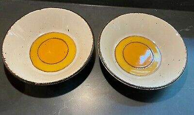 £13.15 • Buy Vintage 2 Bowls Midwinter Pottery Stonehenge Sun Made In England