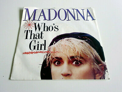 £4.25 • Buy Madonna - Who's That Girl - 7  Vinyl Single - Picture Sleeve - 1987
