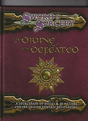 AU20 • Buy Sword And Sorcery Studio The Divine And The Defeated Dungeons And Dragons R.P.G.