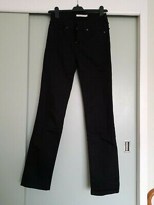 £11 • Buy Ladies Black Levis Jeans, 26  Waist, Reg 32  Length, New Without Tags