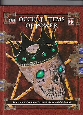 AU20 • Buy Occult Items Of Power Fast Forward Entertainment Dungeons And Dragons D20 System