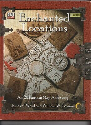 AU20 • Buy 'Enchanted Locations' Fast Forward Entertainment Dungeons And Dragons D20 System
