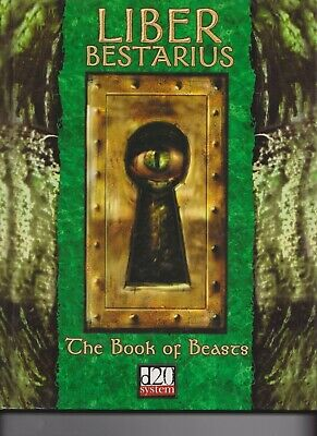 AU20 • Buy 'Liber Bestarius' The Book Of Beasts. Dungeons & Dragons D20 System Eden Odyssey