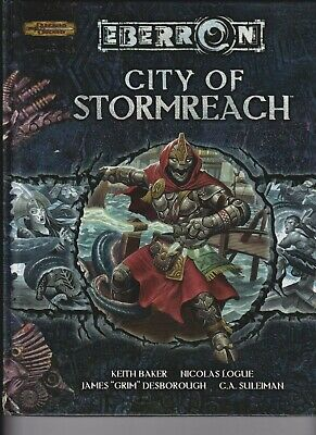 AU102.50 • Buy 'City Of Stormreach' Dungeons & Dragons D20 System Wizards Of The Coast. Eberron