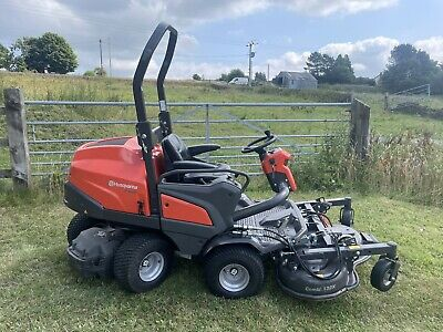 £11950 • Buy Husqvarna P 520 D 4x4 Hydrostatic Deck Out Front Mower 2017 Just 69.3 Hours !!!