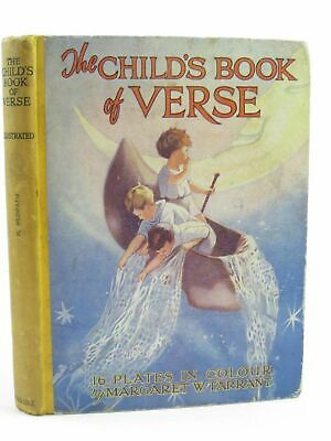 £25 • Buy  THE CHILD'S BOOK OF VERSE. Illus. By Tarrant, Margaret