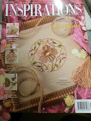 £6.50 • Buy Inspirations Embroidery Magazine Issue 76, 2012. Published In Australia.