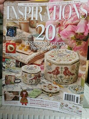£6.50 • Buy Inspirations Embroidery Magazine Issue 65, 2010. Published In Australia.